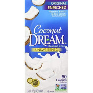Coconut Dream Enriched Original Unsweetened Coconut Drink, 32 Fl. Oz. (Pack Of 6)