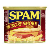 Spam, Hickory Smoke, Canned Meat, 12 Oz (Pack Of 3)