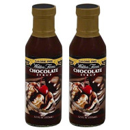 Walden Farms Chocolate Flavored Syrup 12 Fl Oz (2 Pack)