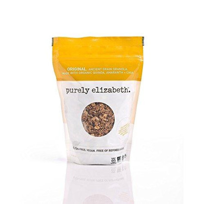 Purely Elizabeth Ancient Grain Organic Granola Cereal, Original, 12 Ounce