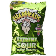Warheads Extreme Sour Hard Candy - Assorted Flavors (Pack Of 3) 3.25 Oz Bags