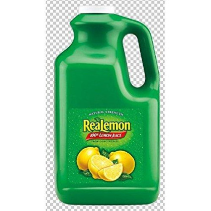 Realemon Juice 4 Case 1 Gallon