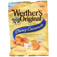 Werther'S Original Chewy Caramels, Individually Wrapped Candy, 2.4 Ounce