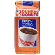 Dunkin' Donuts French Vanilla Ground Coffee (11 Oz.) (Pack Of 3)