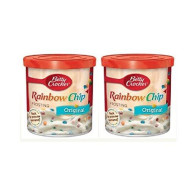 Betty Crocker Original Rainbow Chip Frosting, 16 Oz. (Pack Of 2)