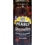 Pearls Specialities Pitted Kalamata Greek Olives 6 Oz (Pack Of 2)