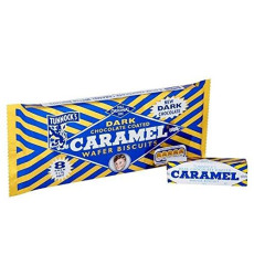 Tunnocks Dark Chocolate Caramel Wafers 8 X 30G