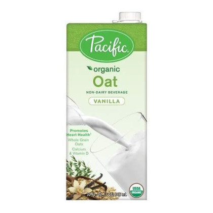 Pacific Foods, Organic Oat - Vanilla (Pack Of 2)