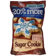 Betty Crocker Sugar Cookie Mix Pouch 21 Oz. / 1 Lb 5 Oz ~ 20% More