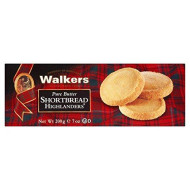 Walkers Highlanders Shortbread 200g - Pack of 2
