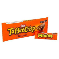 Toffee Crisp Biscuits 7 X 19G - Pack Of 2