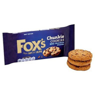 Fox's Delicious Cookies Milk Chocolate Chunks 175g - Pack of 2