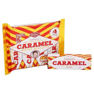 Tunnock'S Milk Chocolate Caramel Wafers 4 X 26.5G - Pack Of 6