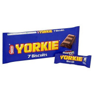 Yorkie Biscuits 7 x 24.5g - Pack of 6