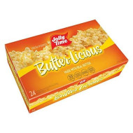 JOLLY TIME Butter-Licious   Original Buttery Microwave Popcorn Snack, Gluten Free with Real Buttered Corn Homestyle Flavor (Bulk 24-Count Box)