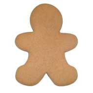 "Scott'S Cakes Undecorated 6"" Large Christmas Gingerbread Men Cookies"