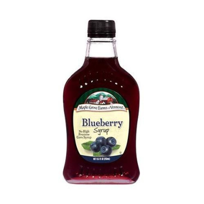 Maple Grove Farms Syrup Natural Blueberry 8.5 Oz (Pack Of 2)