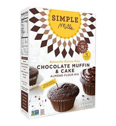 Simple Mills Chocolate Muffin &Amp; Cake Mix, Paleo, 10 Oz (2 Pack)