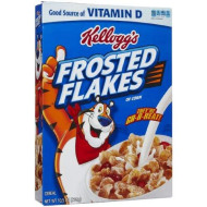 Kellogg'S Frosted Flakes Cereal, 10.5 Oz Box (Pack Of 6)