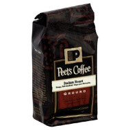 Peets Coffee, Coffee Ground Ital Roast, 12-Ounce (6 Pack) By Peet'S