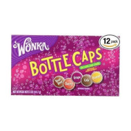 Wonka Bottle Caps The Soda Pop Candy Assorted Flavors: 12 Boxes Of 5 Oz - Dts By Bottle Caps