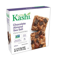 Kashi Chewy Granola Bars, Chocolate Almond And Sea Salt With Chia, 7.4 Ounce (Pack Of 12)