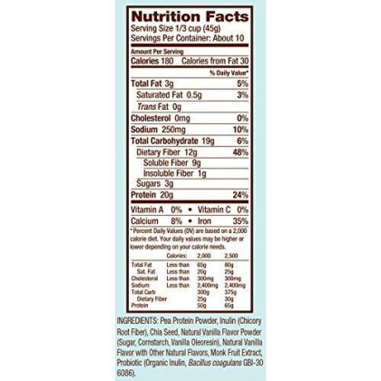 Bob'S Red Mill Vanilla Protein Powder Nutritional Booster, 16-Ounce