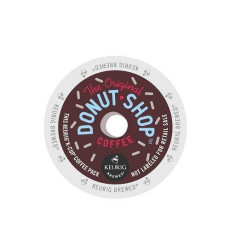 Coffee People Donut Shop Medium Roast Extra Bold, Keurig K-Cups (144 Count)