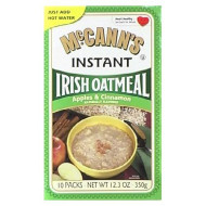 Mccanns Apple And Cinnamon Instant Irish Oatmeal, 12.3 Ounce -12 Per Case.