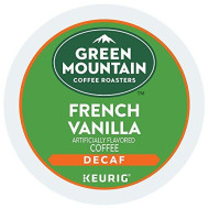 Keurig, Green Mountain, French Vanilla Decaf Coffee, K-Cup Packs, 48-Count