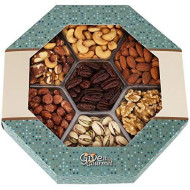 Give It Gourmet, Jumbo Gift Basket,Holiday Nuts Gift Tray Delightful Gourmet Food Gifts Prime Delivery Birthday Christmas Mothers &Amp; Fathers Day Fruit Nuts Gift Box Assortment Men Women Families
