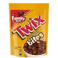 Twix Caramel Bites Size Chocolate Cookie Bar Candy 14.8-Ounce Bag