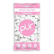 The Pur Company | Sugar-Free + Aspartame-Free Chewing Gum | 100% Xylitol | Bubblegum | Vegan + Non Gmo | 55Pieceper Bag