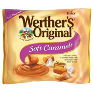 Werther'S Original Soft Caramels, 8.10 Ounce Bag, Individually Wrapped Candy Caramels, Caramel Candy Sweets, Bag Of Candy
