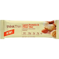 Think Thin Chunky Chocolate Peanut Protein Bar44; 1.41 Oz44; Case Of 10
