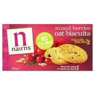 Nairn'S Oat Mixed Berries Biscuits - 200G