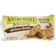 Nature Valley Sandwich Biscuit With Almond Butter (30 Count), 1.35 Oz/Pouch