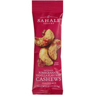 Sahale Snacks Cashews With Pomegranate Plus Vanilla Glazed Nuts, 1.5 Ounce -- 18 Per Case