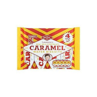 Tunnock's Real Milk Chocolate Caramel Wafer Biscuits 4 X 30G (20 Pack)