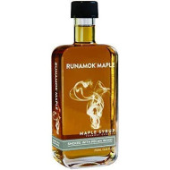Runamok Maple smked With Pecan Wood Syrup | Organic Vermont Maple Syrup | 8.45 Ounce | 250 Milliliter