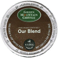 Green Mountain Coffee Roasters 6570 Our Blend Coffee K-Cups, 24/Box
