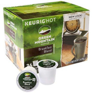 Green Mountain Coffee Roasters 6520 Breakfast Blend Coffee K-Cups, 24/Box