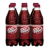 Dr Pepper, .5 L Bottles, 6 Count