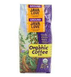 The Organic Coffee Co. Ground, Java Love, 12 Ounce