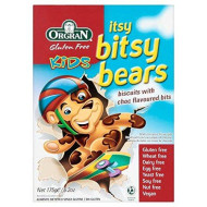 Orgran Free From Chocolate Cookies Itsy Bitsy Bear - 175g