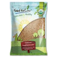 Organic Wheat Berries, 10 Pounds - Non-GMO, Kosher, Raw, Sproutable, Vegan, Sodium and Sugar Free