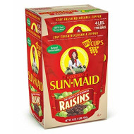 Sun-Maid Natural California Raisins, 64 Ounce