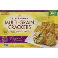 Crunchmaster Multi-Grain Crackers, 3 Pk./7 Oz. ( 1 Box )