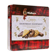 Walkers Shortbread Chocolate Shortbread Assortment Tin, 10.6 Ounce