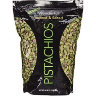 Wonderful No Shell Pistachios Roasted & Salted (24 Oz.) (1Pk)